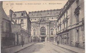 France Tours Le Theatre municipal 1923