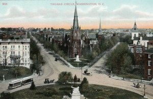 WASHINGTON, D.C., 1900-10s ; Thomas Circle, version 2