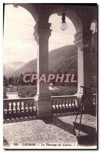 Old Postcard Luchon Terrace Casino