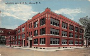 New York NY Postcard ELMIRA Chemung County c1910 AMERICAN SALES BOOK COMPANY