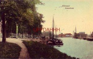 NETHERLANDS. ALKMAAR - KANAALKADE 1910