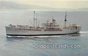 USS Bryce Canyon AD-36 Charleston Naval Shipyard, Charleston, SC Postcard Pos...