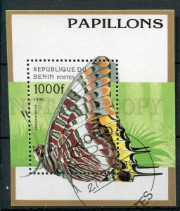 265995 BENIN 1996 year used S/S butterfly