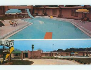 Unused Pre-1980 POOL & SUN-N-SAND MOTEL Perry Florida FL u5307-12