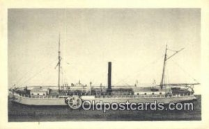 Robert Fulton's Hudson River Steamboat The Clermont, New York City, NY USA Wr...