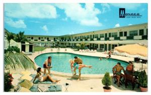 1950s/60s Monaco Luxury Resort Motel, Miami Beach, FL Postcard