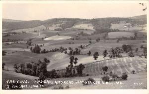 Keyser Ridge Maryland Oakland Road Real Photo Antique Postcard K107011