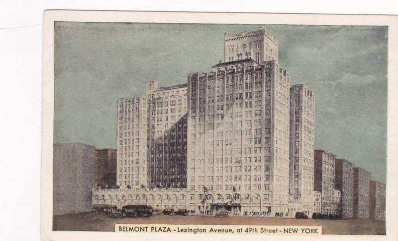 Hotel Belmont Plaza, Lexington Avenue, 49th to 50th Streets, New York City, 2...
