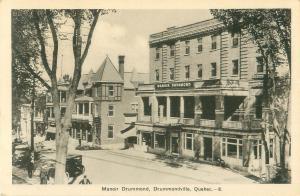 Drummondville, Quebec Canada Manoir Drummond 1941 Photo Postcard #8
