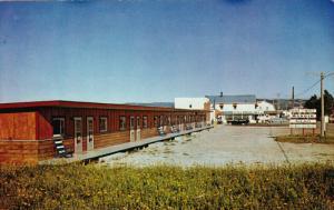 Motel-Hotel Manoir Sur Mer, STE. ANNE DES MONTS, Quebec, Canada, 40-60´s