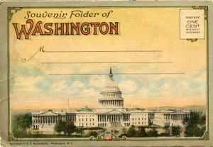 Folder - Washington, DC - Fold-Out 30 wide Panoramic of the City + 14 more v...