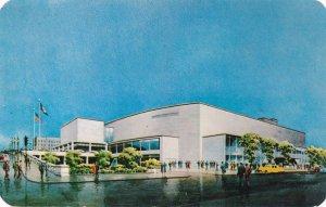 War Memorial Auditorium on Exchange Street - Rochester, New York - pm 1955