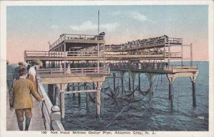 New Jersey Atlantic City Net Haul Million Dollar Pier