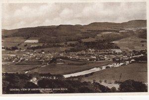 RP: ABERFELDY , Perthshire , Scotland , 1910-30s ; From Weem Rock