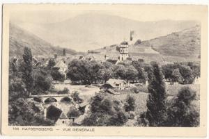 France, KAYSERSBERG, Vue Generale, unused Postcard