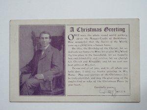 1919 Kansas Postcard Signed C Gray Jones With Photo - Genealogy Family