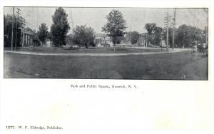 10382  NY Norwich  Park and Public  Square
