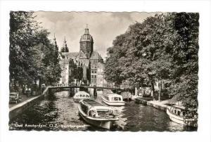 RP  Oud AMSTERDAM , Netherlands, 40-50s   O.Z. Voorburgwal