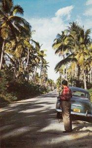 GUAM , 1950-60s ; Merizo-Inarajan Road