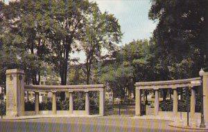 Canada Montreal Roddick Memorial Gates Entrance To McGill University
