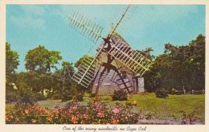 Old Windmill Cape Cod Massachusetts 1965