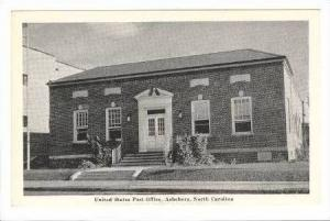 Post Office, Asheboro, North Carolina, 20-40s