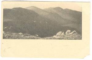 Presidential Range From Mt. Washington, New Hampshire, PU-1908