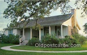 Stonewall, TX, USA Postcard Modest Farm Home