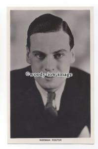 b3842 - Film Actor - Norman Foster - postcard - Picturegoer 678
