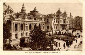 France - Monte Carlo. The Casino, Front