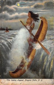 The Indian legend Niagara Falls Unused