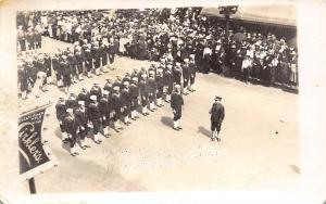 Minneapolis MN~Memorial Day Parade~Dunwoody Jackies~Navy~Cirkler's~c1917 RPPC