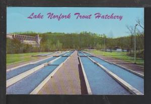 Lake Norfolk Trout Hatchery,AR Postcard