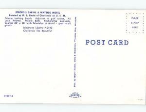 Pre-1980 CABIN SCENE Charlevoix Michigan MI c4060