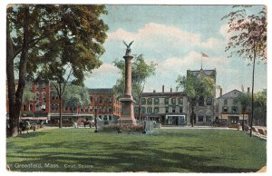 Greenfield, Mass, Court Square