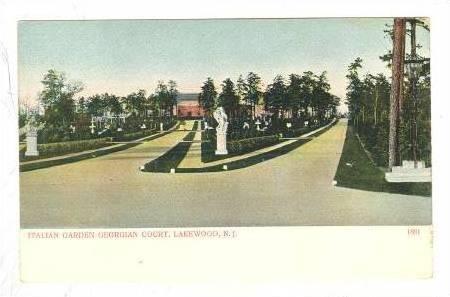 Italian Garden Georgian Court, Lakewood, New Jersey, 00-10s