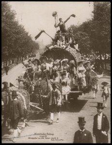 Austria 1908 Kaiser Franz Joseph Huldigungs Festival RPPC Kaiser Josef II 94833