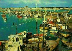 France Royan Le Port et la Grande Conche Harbour Fishing Boats Postcard