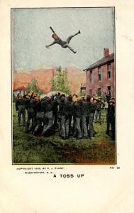 U.S. Military, WWI. U.S. Army, A Toss Up