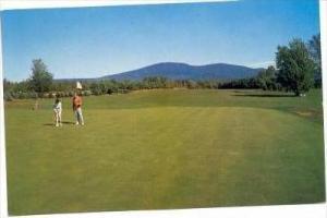 Golf, Lake Sunapee Country Club, New London , New Hampshire, 40-60s