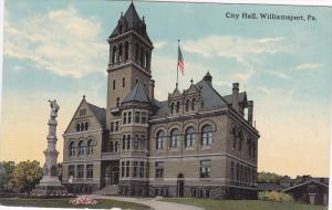 Exterior,  City Hall,  Williamsport,  Pennsylvania,   00-10s