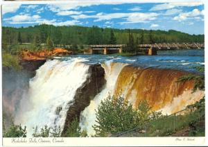 Canada, Kakabeka Falls 1971 used Postcard