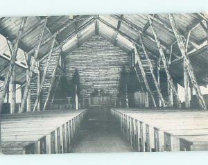 Pre-1980 CHURCH OF THE DUNES Stony Lake - Near Muskegon Michigan MI c3722