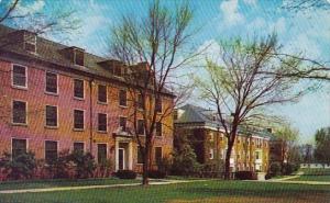 Shaw Hall, Beaver And Sawyer Halls Granville Ohio 1958
