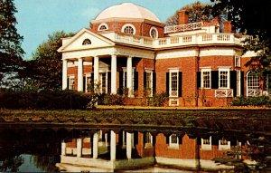 Virginia Charlottesville Monticello Home Of Jefferson