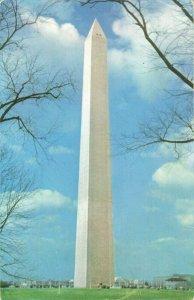 Postcard Washington Monument Washington DC