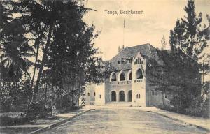 German East Africa Tanzania Tanga Bezirksamt, Postcard