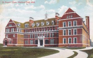 HIGHLAND PARK, Michigan, 00-10s; St. Francis' Home