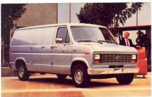 1986 Econoline Van, 40-60s