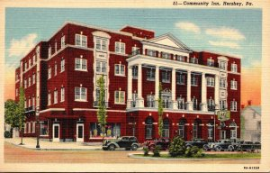 Pennsylvania Hershey The Community Inn 1955 Curteich